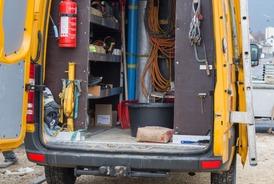 Aménagement de véhicules d'atelier